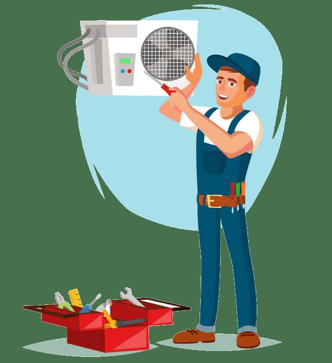 демонтаж климатик